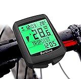 BACKTURE Cuentakilómetros para Bicicleta, 5 Idiomas Impermeable...