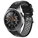 Wifit Compatible with Gear S3 Bands,Solf Silicone Replacement Band for Samsung Gear S3 Frontier/ S3...