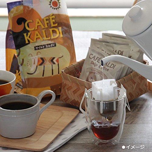 店内にズラーっと並んだ豊富な豆はもちろん、ドリップパックも人気のカルディ。世界各国から取り寄せられたよりすぐりの豆は、風味も香りもとても美味しいとコーヒー好きにも愛されています。