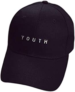 Summer Sunshade Sun Letter Embroidery Hat Outdoor Leisure Sports Vacation Travel School Hat Unisex Childrens Baseball Cap Cotton