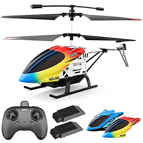 4DRC M5 Remote Control Helicopter Altitude Hold RC Helicopters with Gyro for Adult Kid...