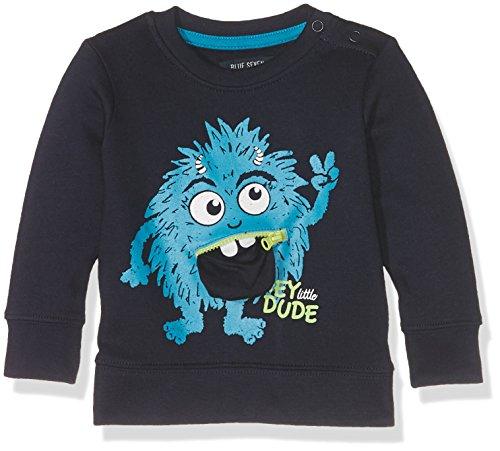 Blue Seven Baby-Jungen 984013 X Sweatshirt, Blau (Nachtblau Orig 590), 62