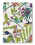 Ladytimer Ringbuch Nature Art 2016 - Taschenplaner / Taschenkalender A5 - Collegetimer / Schülerkalender - Weekly - Ringbindung - 128 Seiten