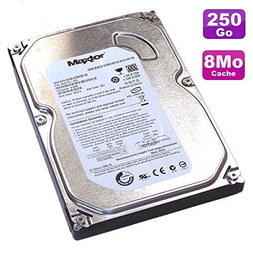 "Maxtor - Disco rigido da 250 GB, SATA 3,5"", DiamondMax 21 STM3250820AS 7200 RPM, 8 MB"