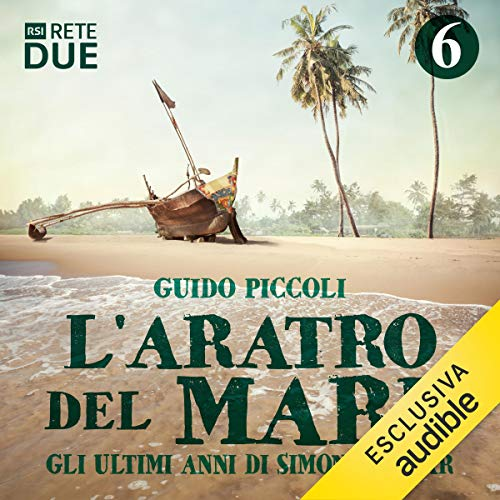 L'aratro del mare 6 audiobook cover art