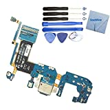 SooMine USB Dock Connector Charging Port Flex Cable Replacement Compatible with Samsung Galasy S8 Plus (S8 Plus G955F)