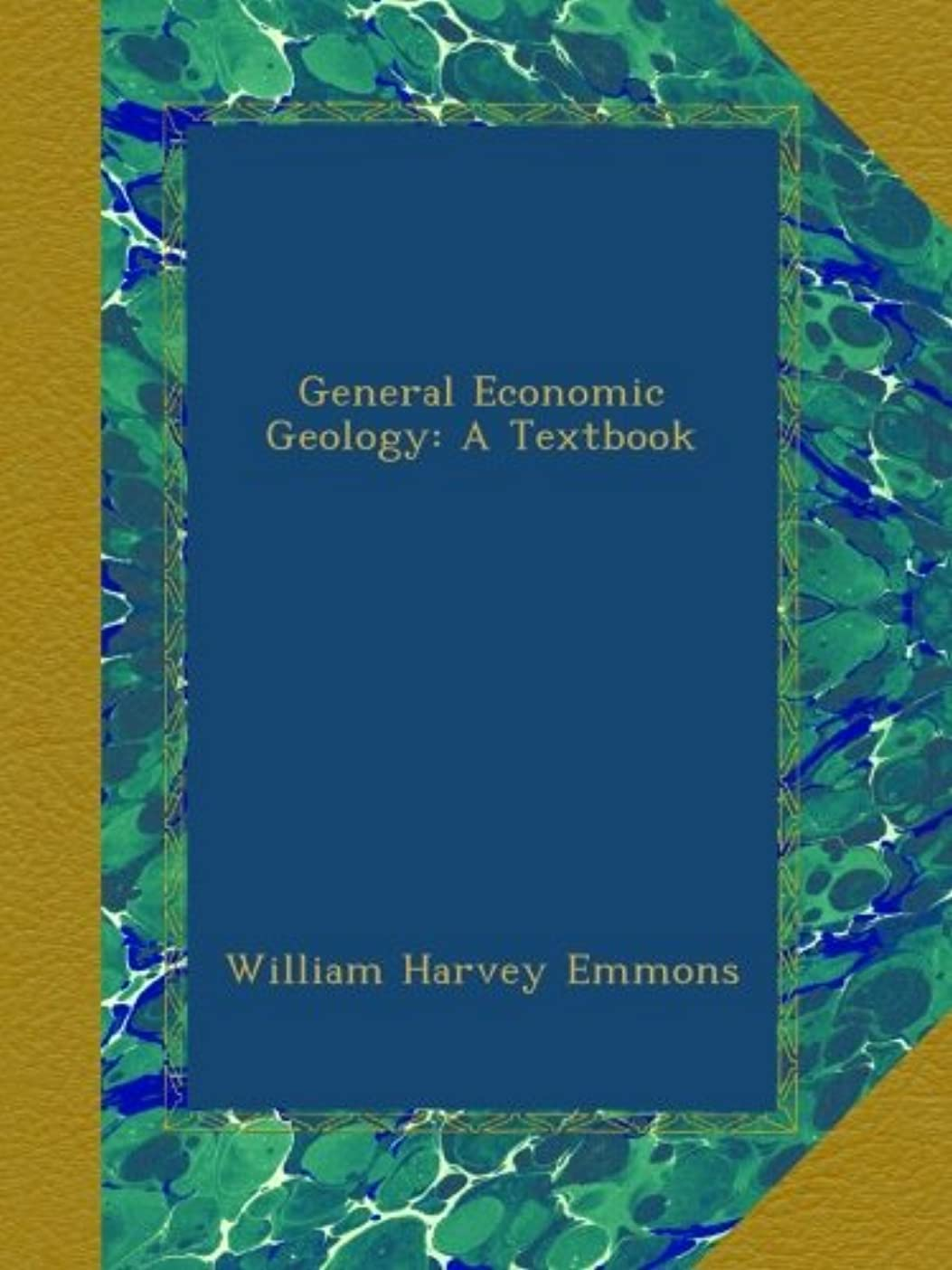 許可する船員平行General Economic Geology: A Textbook