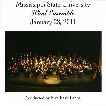 Mississippi State University Wind Ensemble January 28, 2011