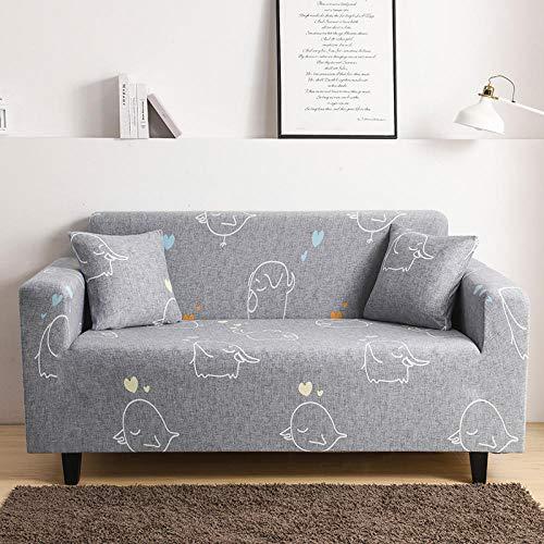 HXTSWGS Funda para sofá de Tela,Funda de sofá elástica, Funda de sofá de Banco de sofá de Silla elástica, Funda Protectora de Perro mascota-Color20_190-230cm