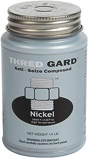 Gasoila Thred Gard Nickel Based Anti-Seize and Lubricating Compound, 1/4 lbs Brush