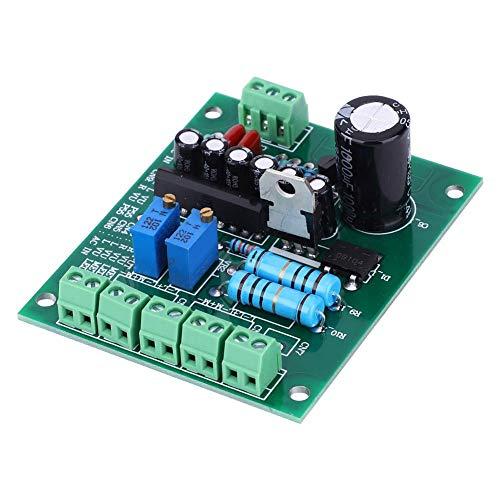 Stereo-VU-Meter-Treiberplatine,12-V-Stereo-VU-Meter-Treiberplatine Verstärker DB-Audiopegelmesser, Doppelseitige Leiterplatte, IC mit Stummschaltfunktion