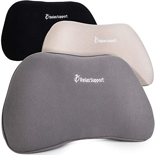 RS1 Back Support Pillow by RelaxSupport – Lumbar Pillow Upper and Lower...