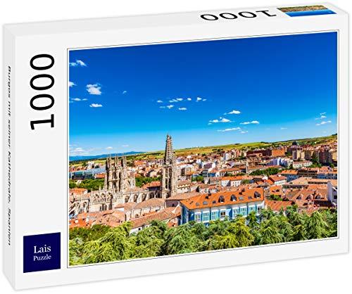 Puzzle Burgos con su Catedral, España 1000 Piezas