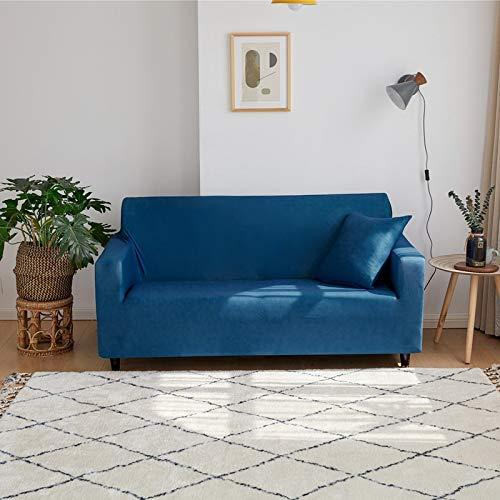 PPMP Fundas de sofá elásticas para Sala de Estar Fundas Protectoras de Muebles Funda de sofá elástica para sofá Silla A19 1 Plaza