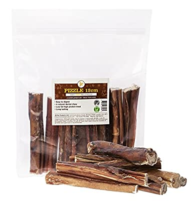 5 x Thick Bulls Pizzles 12cm 5 Inch Bully Sticks Dog Treat Chew Supplied By JR Pet Products