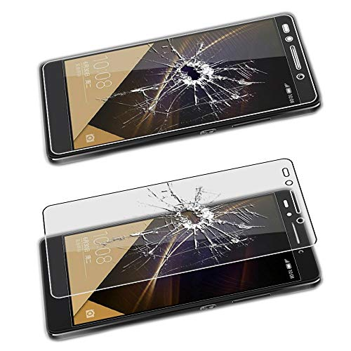 ebestStar - Huawei Honor 7 Hülle Handyhülle [Ultra Dünn], Premium Durchsichtige Klar TPU Schutzhülle, Soft Flex Silikon, Transparent + Panzerglas Schutzfolie [Honor 7: 143.2 x 71.9 x 8.5mm, 5.2''] - 5