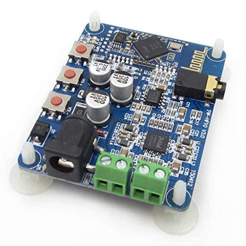 REES52 DC 12V Bluetooth 4.0 PAM8610 Audio Receiver Stereo Amplifier Board 10W+10W 2X10W Module Board -Audio Receiver Stereo Amplifier Board