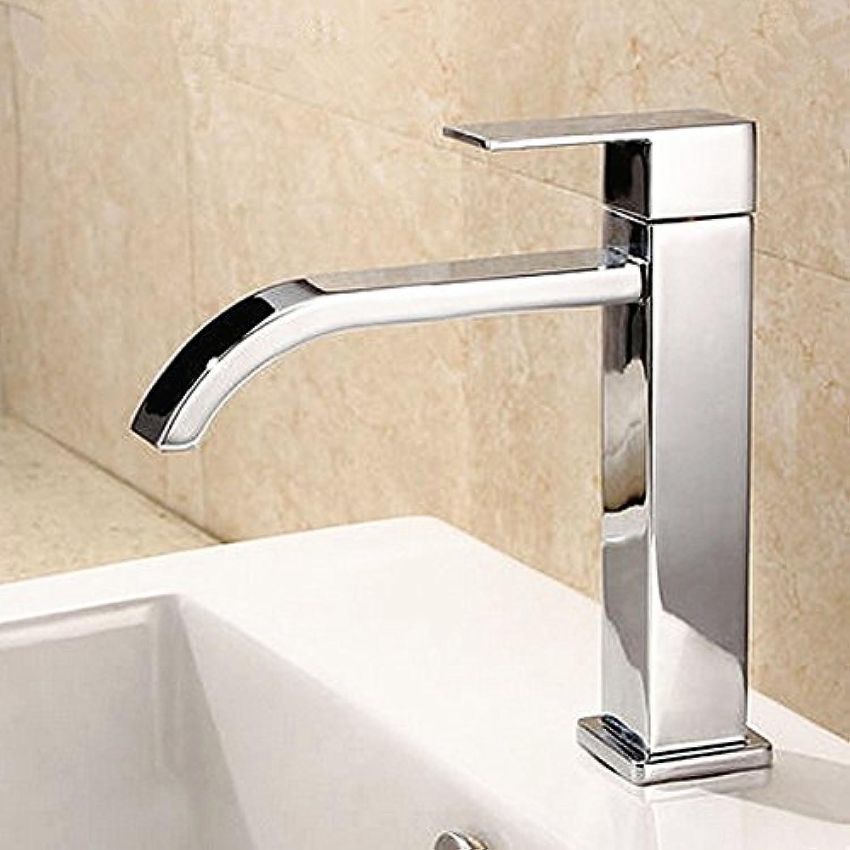 Tourmeler Waterfall Bathroom Single Cold Faucet, Bathroom Single Handle Faucet, Contemporary Bathroom Single Hole Faucet, J17047, Bathroom Tap A