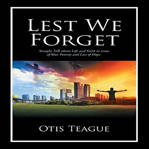 Lest We Forget audiobook cover art