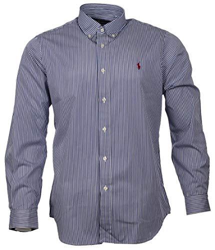 Ralph Lauren Herren Hemd - Vertikal gestreift (M)