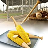 CKB LTD Set of 2 - Novelty Baseball Bat Corn On...