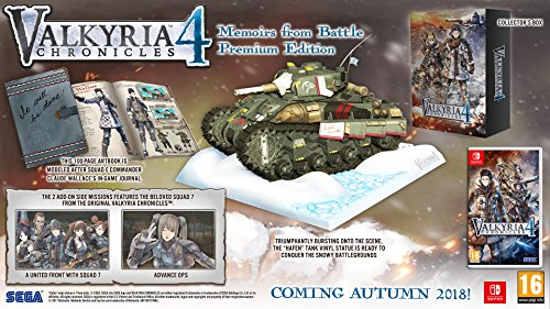 Valkyria Chronicles 4: Memoirs from Battle Premium Edition - Nintendo Switch [Importación inglesa]