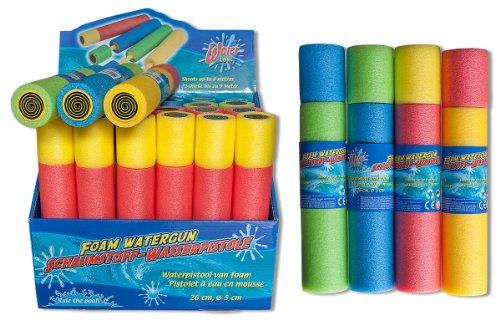 12 x Poolkanone Wasserspritze Wasserpistole Pool Kanone Länge: 26cm Durchmesser: 5cm