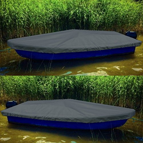 Sitzbag Anka Bootsplane für Anka Ruderboote - Plane mit Kordelseil und Schlaufen - Premium Persenning Fischerboot Plane Abdeckplane Angelboot
