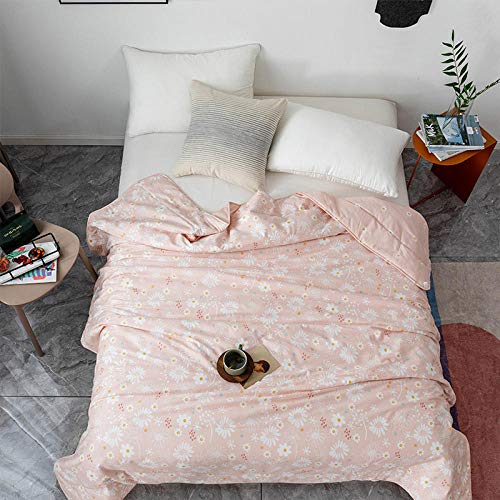 Single double Pure cotton air conditioner is summer cool thin quilt machine washable child gift-T whisper_230cm * 229cm
