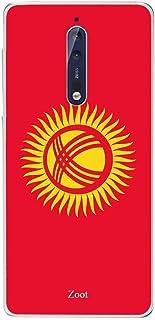 Nokia 8 Kaziqistan Flag, Zoot Designer Phone Covers
