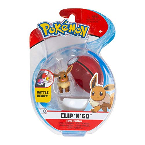 Pokémon Clip 'N' Go - Eevee & Poké Ball