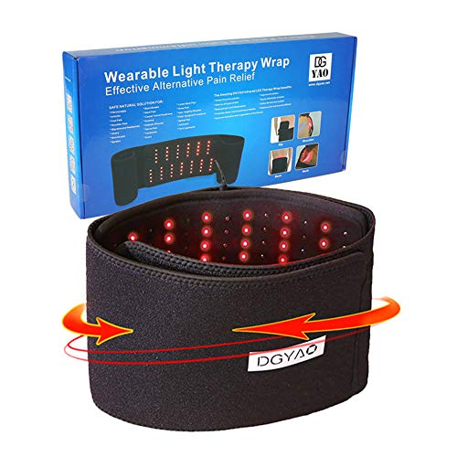 Buy Red Light Near Infrared Therapy Led Benefits Back Pain Relief Home Use Wearable Wrap Deep Penetr...