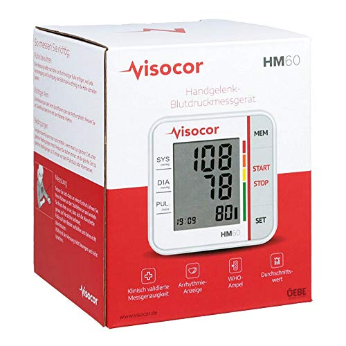 VISOCOR Handgelenk Blutdruckmessgerät HM60