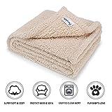 furrybaby Premium Fluffy Fleece Dog Blanket, Soft and Warm Pet Throw...