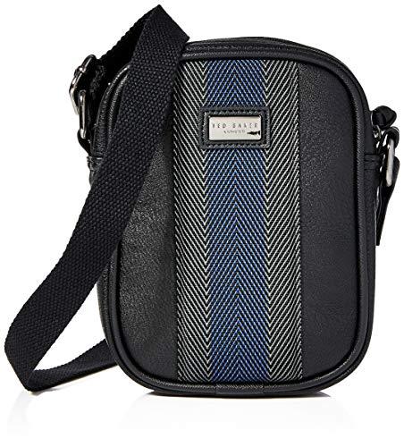 Ted Baker Men's SUNDIE Flight Bag, Black, One Siz