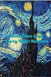 Vincent Van Gogh Starry Night Notebook: Password Logbook in Disguise with Beautiful Vincent Van Gogh Art (Discreet Password Keeper / Organizer)for men women kids art lovers