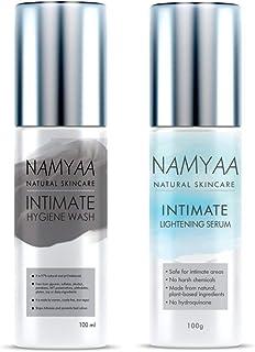 QRAA Namyaa Intimate Set (Intimate Lightening Serum, 100 g and Intimate Hygiene Wash for Men and Women, 100 g)