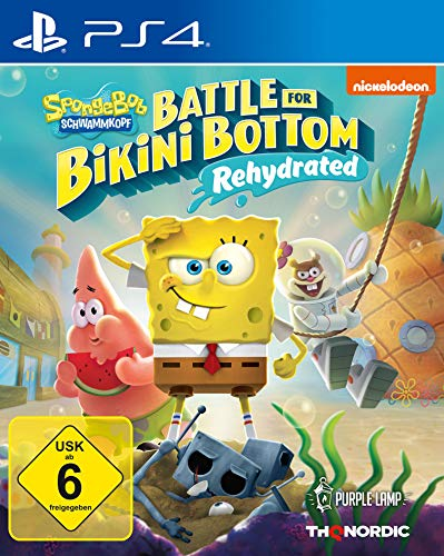 Spongebob Schwammkopf: Battle for Bikini Bottom - Rehydrated [Playstation 4]