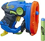 NERF Microshots Overwatch Lucio Blaster -- Includes 2 Official Elite Darts -- for Kids, Teens, Adults