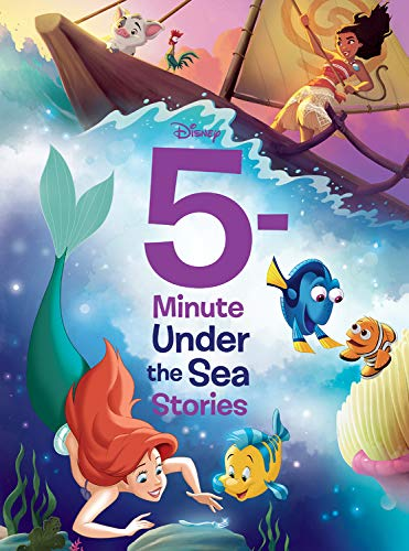 Compare Textbook Prices for 5-Minute Under the Sea Stories 5-Minute Stories Illustrated - Media tie-in Edition ISBN 9781368055529 by Disney Books,Disney Storybook Art Team