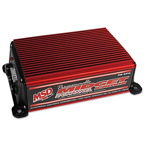 MSD Programmable Midget Allumage Pn: 6214
