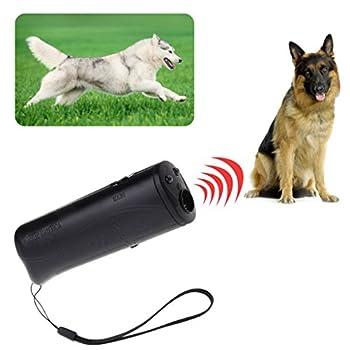 Runrain 3en 1à ultrasons Anti aboiement Stop Barking Chiens Training Répulsif contrôle Trainer