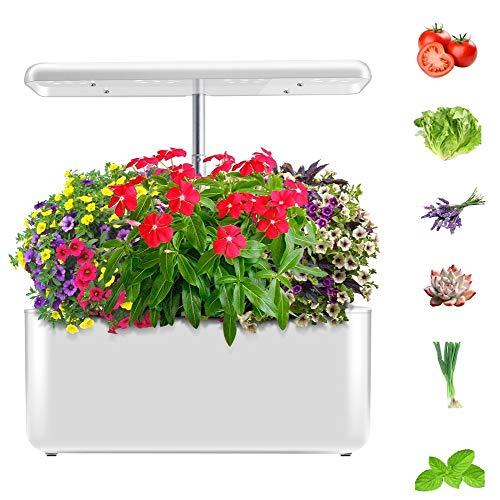 ZHANGRONG Jardín Inteligente De Interior Máquina Inteligente De Crecimiento De Plantas Lámpara De Crecimiento De Plantas Hidropónicas De Flores De Plantas Verdes De Espectro Completo LED