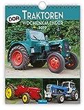Wochenkalender 'DDR-Traktoren' 2019 als Wandkalender Technikkalender Ostalgiekalender Landwirtschaft LPG