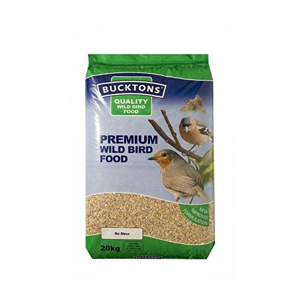 Bucktons Premium Wild Bird Seed Mix, 20 kg