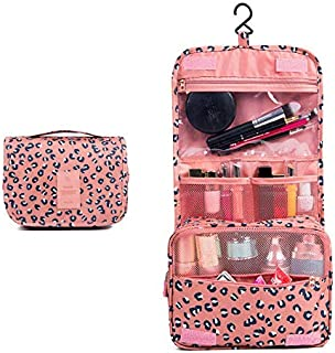 TERSELY Hanging Toiletry Bag, Multifunction Travel Organizer For Grils Women, Simplicity and Stylish Waterproof Cosmetic pouch