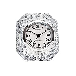Godinger Emerald Clock - Crystal