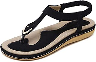 Women's Comfy Sandals, Comfort Slip On Summer's Sandals