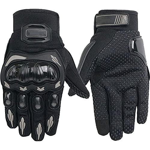 Motorhandschoenen Mannen Vrouwen Touchscreen ademend Slijtvast Volledige vinger handschoenen voor Motorcross Atv UTV…