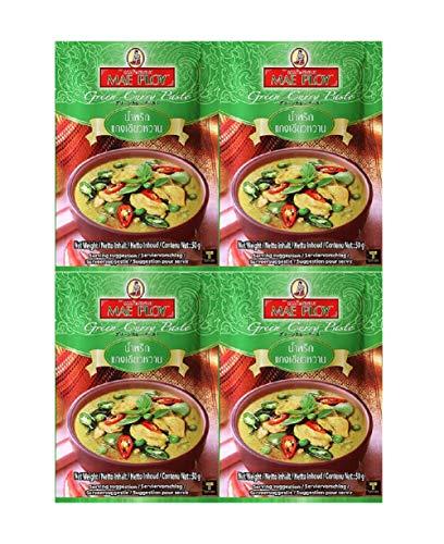 メープロイ カレースパイス グリーンカレーペースト 50g×4袋セット